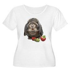 Bunny and strawberries T-Shirt