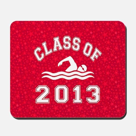 Class Of 2013 Swimming Mousepad