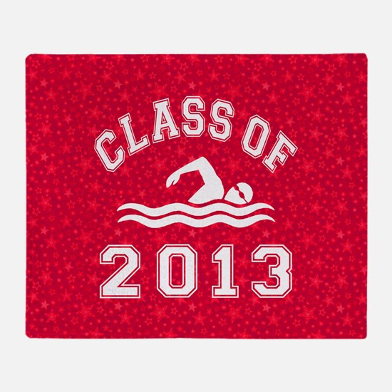 Class Of 2013 Swimming Throw Blanket