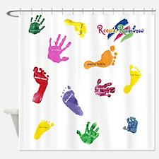 reunionfront Shower Curtain