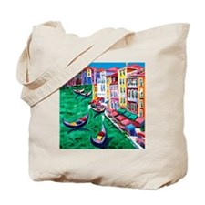 Venice Painting Tote Bag