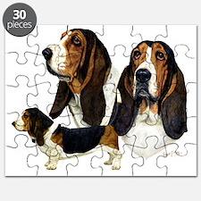 Basset Hound Multi Puzzle