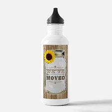 Rustic Change Of Addre Water Bottle