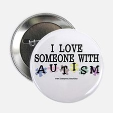 Someone W/ Autism Button
