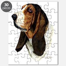 Basset Hound Head b Puzzle