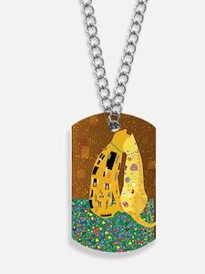 Klimts Kats Dog Tags