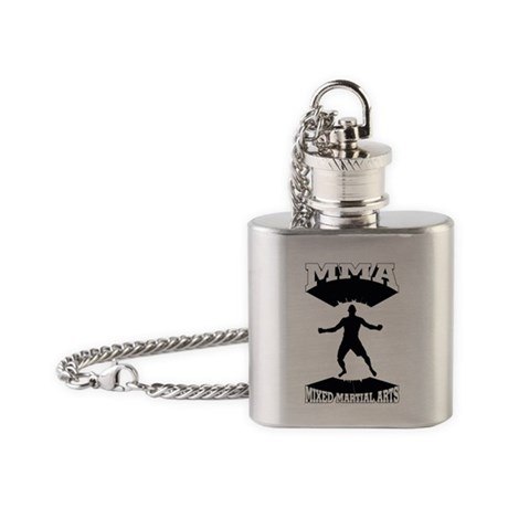 MMA Mixed martial arts Flask Necklace