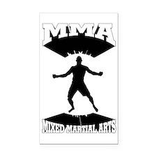 MMA Mixed martial arts  Rectangle Car Magnet