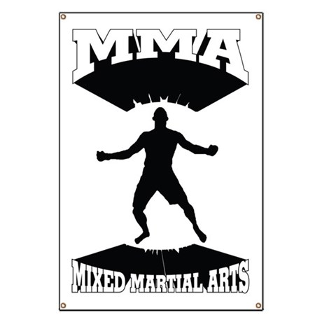 MMA Mixed martial arts Banner