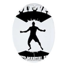 MMA Mixed martial arts  Oval Ornament