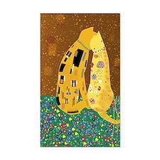 Klimts Kats Rectangle Car Magnet