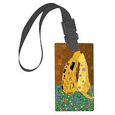 Klimts Kats Luggage Tag