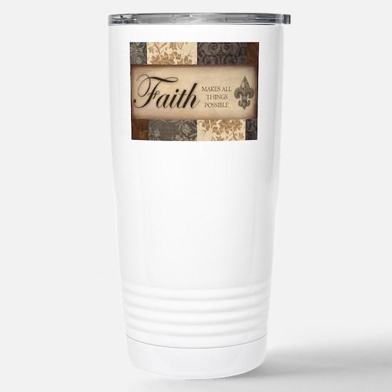FAITH Stainless Steel Travel Mug