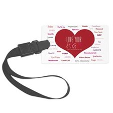 Be Inspired to Eat  Luggage Tag