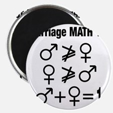 Marriage Math 101 Magnet