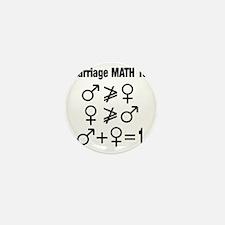 Marriage Math 101 Mini Button