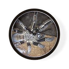 Skeleton Leg Tarantula Wall Clock