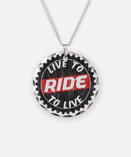 Live to Ride - Ride to Live Necklace