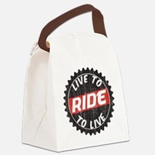Live to Ride - Ride to Live Canvas Lunch Bag