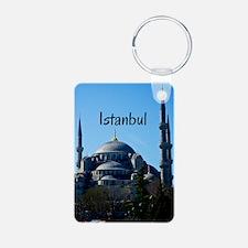 Istanbul_5X7_Card_BlueMosq Keychains