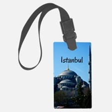 Istanbul_5X7_Card_BlueMosque Luggage Tag