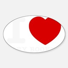 I love Cory Booker Sticker (Oval)