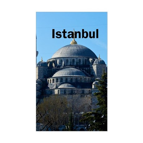 Istanbul_2.337 x 4.9_iPhone5Ca Sticker (Rectangle)
