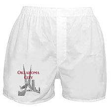 OklahomaCity_10x10_SkyDanceBridge_v3 Boxer Shorts