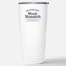 Wooly Mammoth Stainless Steel Travel Mug