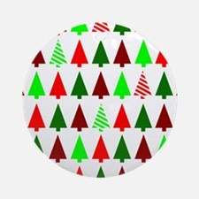 Little Trees Ornament (Round)