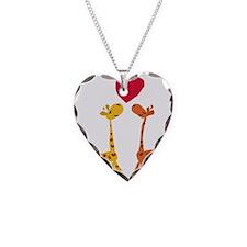 Funny Giraffe Love Necklace