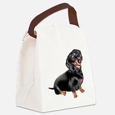 Dachshund-BT - Big2 Canvas Lunch Bag