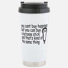 Lacrosse Happiness Stainless Steel Travel Mug
