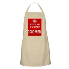 were all doomed for cards Apron
