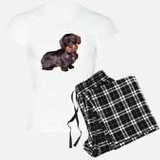 Wire Haired Dachshund (dkbr Pajamas