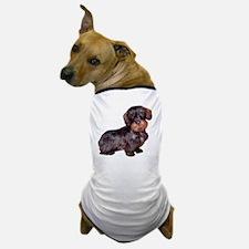 Wire Haired Dachshund (dkbrn) Dog T-Shirt