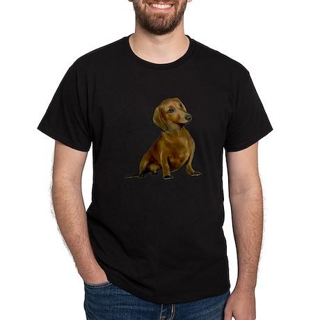 Brown / Red Dachshund Dark T-Shirt