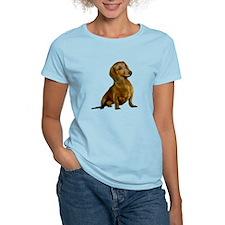 Brown / Red Dachshund T-Shirt