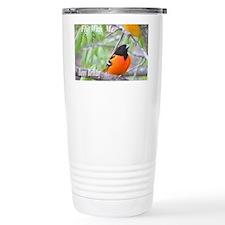Northern Oriole Travel Mug