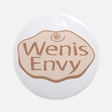 Wenis is Showing Ornament (Round)