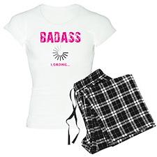 BADASS LOADING - PINK Pajamas