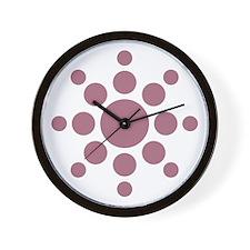Sun Symbol Wall Clock