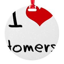 I Love Homers Ornament