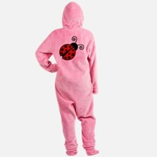 Red Ladybug 2 Footed Pajamas