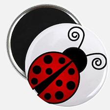 Red Ladybug 2 Magnet