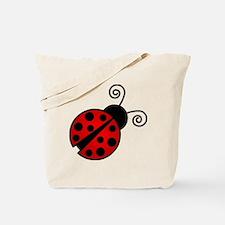Red Ladybug 2 Tote Bag