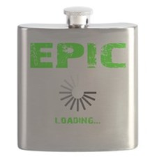 EPIC LOADING - ELECTRIC LIME Flask