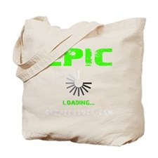 EPIC LOADING - ELECTRIC LIME Tote Bag