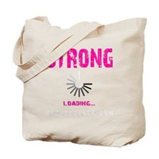 STRONG LOADING - ELECTRIC PINK Tote Bag