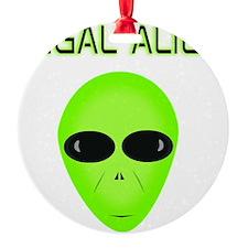 Legal Aliend Ornament